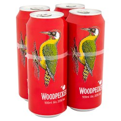 Woodpecker Cider 4 x 500ml Cans