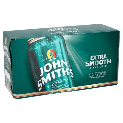 John Smith's Extra Smooth Ale Can 10 x 440ml