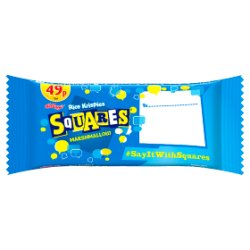 Kellogg's Rice Krispies Squares Chewy-Tastic Marshmallow 28g