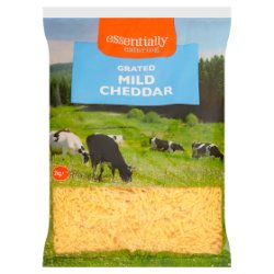 Essentially Catering Grated Coloured Mild Cheddar 2kg