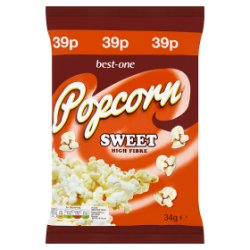 Best-One Sweet Popcorn 34g