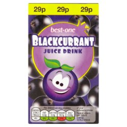 Best-One Blackcurrant Juice Drink 250ml