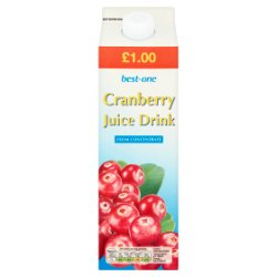 Best-One Cranberry Juice Drink 1 Litre