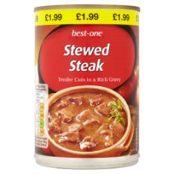 Best-One Stewed Steak 390g