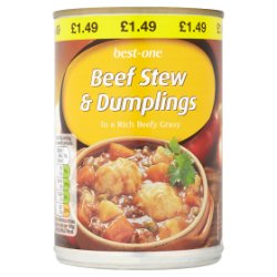 Best-One Beef Stew & Dumplings 390g
