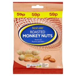 Best-One Roasted Monkey Nuts 120g