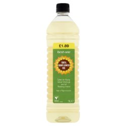 Best-One 100% Sunflower Oil 1L
