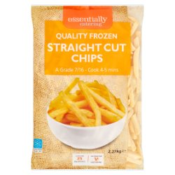 Essentially Catering Straight Cut Chips 2.27kg