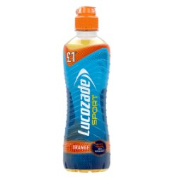 Lucozade Sport Orange PM £1