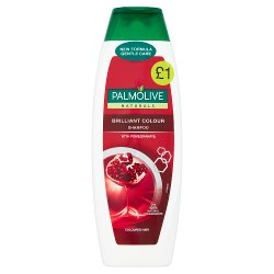Palmolive Naturals Shampoo Brilliant Colour with Pomegranate 350ml PMP £1