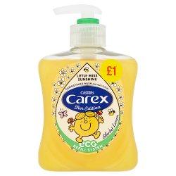 Carex Fun Edition Mr Men & Little Miss Sherbet Lemon Antibacterial Hand Wash 250ml PMP £1