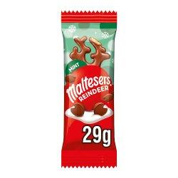 Maltesers Reindeer Mint Chocolate Christmas Treat 29g