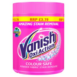 Vanish Oxi Action Colour Safe Powder Fabric Stain Remover 450g
