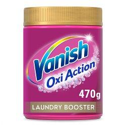 Vanish Oxi Advance Multi Power Chlorine-Free Laundry Booster Powder 470g