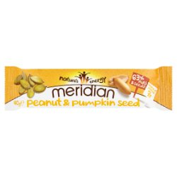 Meridian Peanut & Pumpkin Seed Bar 40g