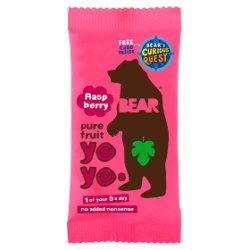 BEAR Raspberry Pure Fruit Yoyos 20g