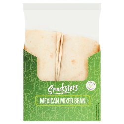Snacksters Mexican Mixed Bean Wrap