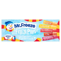 Mr. Freeze Freeze Pops 20 x 45ml (900ml)