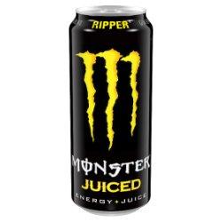 Monster Energy Ripper 500ml PMP £1.35