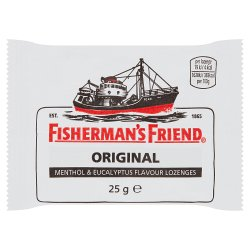 Fisherman's Friend Original Menthol & Eucalyptus Flavour Lozenges 25g