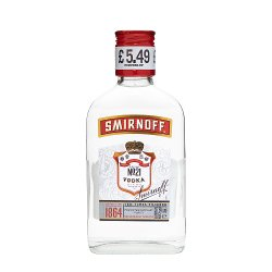 Smirnoff Red Label Vodka 20cl PMP £5.49