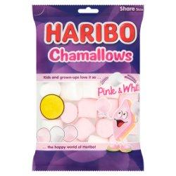 HARIBO Chamallows Pink & White Bag 160g £1 PM