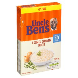 UNCLE BEN'S® Long Grain Rice 500g