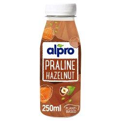 Alpro Praline Hazelnut Chocolate Chilled Drink 250ml