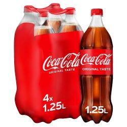 Coca-Cola Original Taste 4 x 1.25L