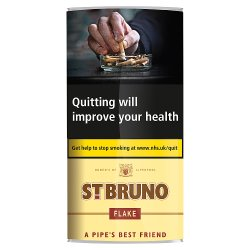 St. Bruno Flake Pipe Tobacco 50g
