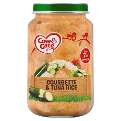 Cow & Gate Courgette & Tuna Rice from 7m Onwards 200g