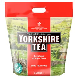 Taylors of Harrogate 1040 Yorkshire Tea Bags 3.25kg