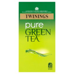 Twinings Pure Green Tea 20 Enveloped Tea Bags 50g