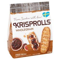 Krisprolls Wholegrain Complets 225g