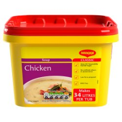 Maggi Classic Chicken Soup Tub 2kg