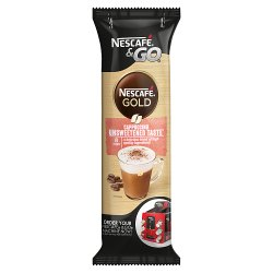 Nescafé &Go Gold Cappuccino Coffee Sleeve of 8 Cups x 17.5g