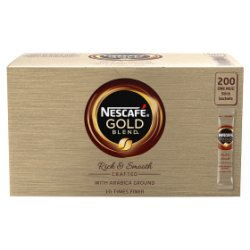 NESCAFÉ Gold Blend Instant Coffee, 200 Sachets x 1.8g