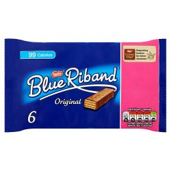 Blue Riband Original Multipack (6 for £1 x 19.3g)