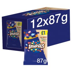 Smarties Milk Chocolate Sweets Sharing Bag 87g