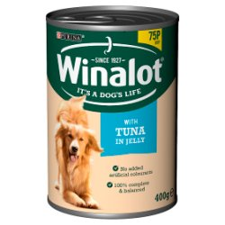 WINALOT Classics Tinned Dog Food Tuna in Jelly 400g