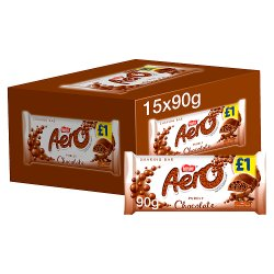 Aero Milk Chocolate Sharing Bar 90g PMP £1
