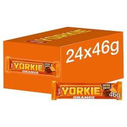 Yorkie Orange Milk Chocolate Bar 46g