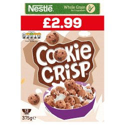 Cookie Crisp Chocolate Chip Cookie Cereal 375g