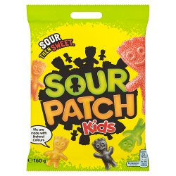 Sour Patch Kids Sweets Bag 160g