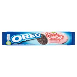 Oreo Strawberry Cheesecake Sandwich Biscuits 154g