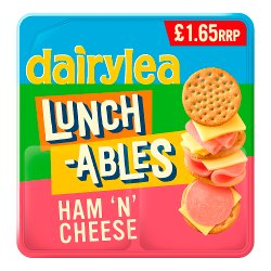 Dairylea Lunchables Ham 'n' Cheese £1.65 83.4g
