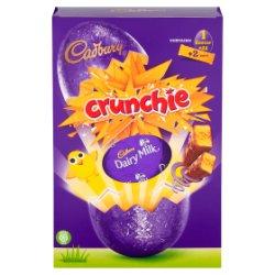 Cadbury Crunchie Large Easter Egg 258g