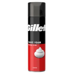 Gillette Classic Men's Shaving Foam Regular 200ml