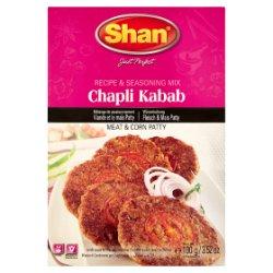 Shan Chapli Kabab Recipe & Seasoning Mix 100g