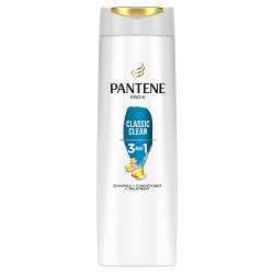 Pantene Pro-V Classic Clean 3in1 Shampoo + Conditioner + Treatment 225ML, For Normal To Mixed Hair